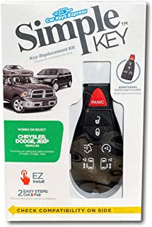 $119 » Simple Key Programmer & Key Fob for Select Chrysler, Dodge, Jeep, Ram, Volkswagen Vehicles (interchangeable 5 & 7 button k...