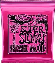 Ernie Ball Super Slinky Nickel Wound Set, .009 - .042