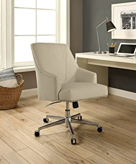 Amazon Com Beige Home Office Desk Chairs Home Office Chairs Home Kitchen
