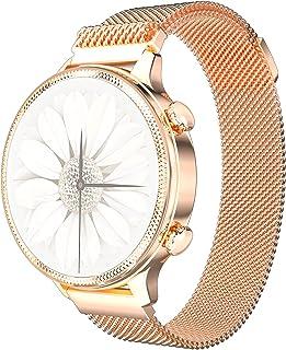 PHIPUDS Smartwatch Fitness Tracker Horloge, IP68 Waterdichte Smart Watch met Hartslagmeter, Stappenteller, Slaapmonitor, G...