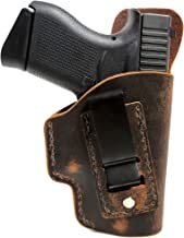Springfield Armory XDE 3.3 Holster - Concealed Carry Holster - IWB - Natural Water Buffalo Hide - Soft Sided Leather Inside the Waistband (IWB) Concealed Carry Holster- IWB Holster- Made In U.S.A.