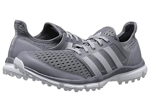 Buy Cheap Mens Golf Shoes - Adidas Climacool Grey/Ftwr White/Ftwr White