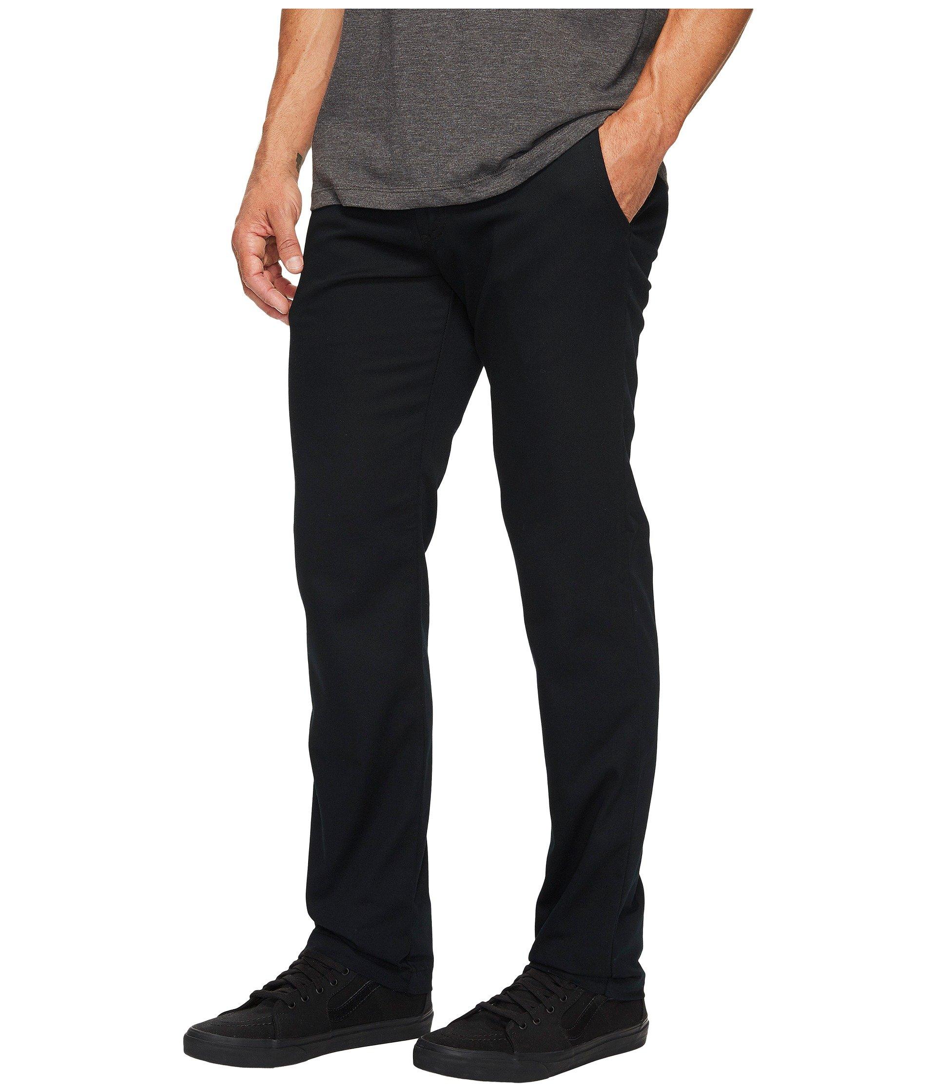 Chino Vans Stretch Pants Authentic Black g1EqYxw