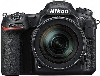 Nikon DX-format D500 Lens Kit - 16-80mm f/2.8-4E ED VR Lens, SLR Camera, Black