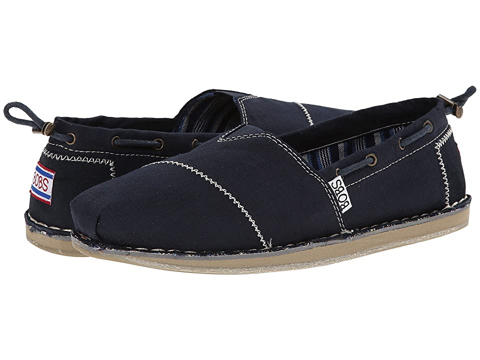 365e14a4f30 BOBS from SKECHERS Bob Chill- Rowboat (Navy) Women s Flat Shoes
