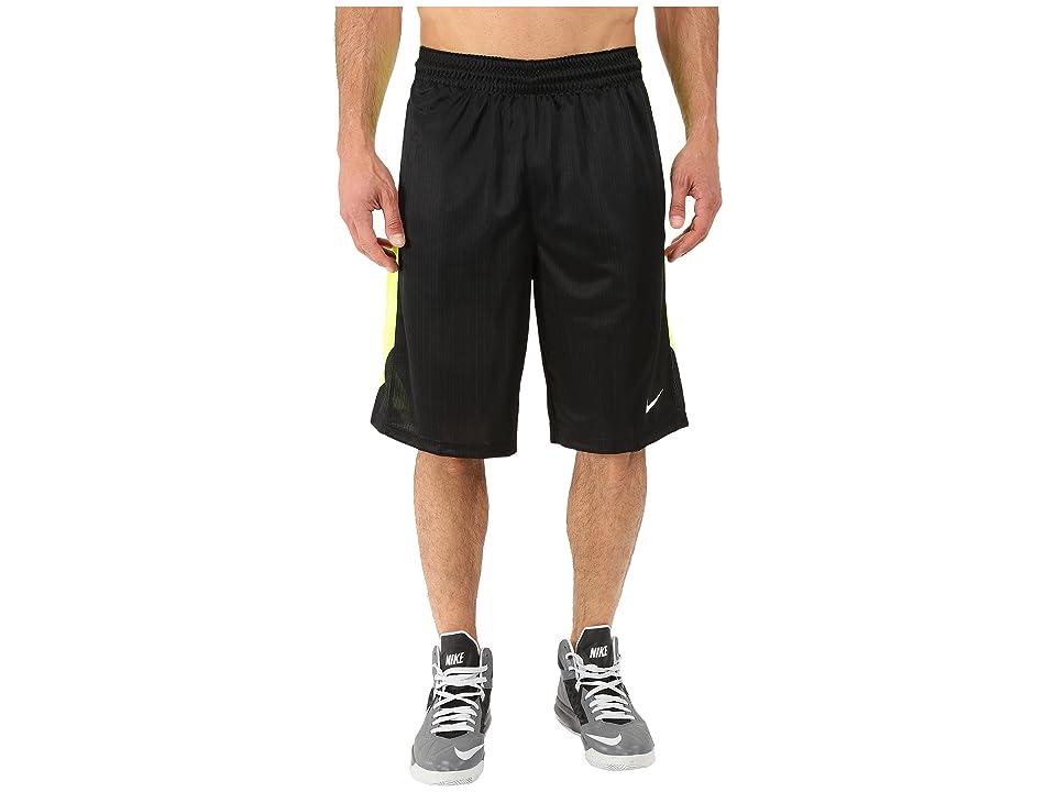 Nike Layup Shorts 2.0 (Black/Volt/Black/White) Men