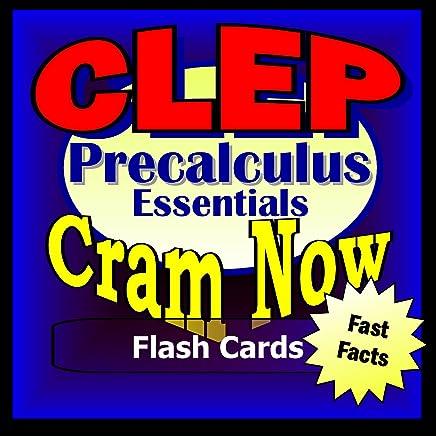 Amazon com: CLEP Prep Test PRECALCULUS Flash Cards-CRAM NOW