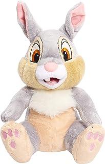 دمية قطيفة كبيرة ثومبر من ديزني كلاسيكس فريندز، مقاس 13 انش، دمية محشوة بتصميم أرنب، حصري على أمازون من جاست بلاي
