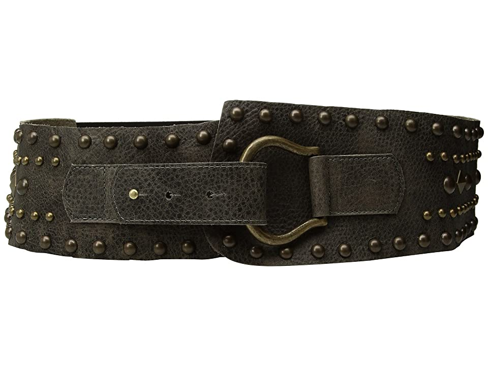 Leatherock Jett Belt (Grey) Women