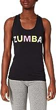 Zumba Tanktop voor dames, met grafische print, geschikt voor fitness, gym, atletische dans, zacht, ademend, workout, racer...