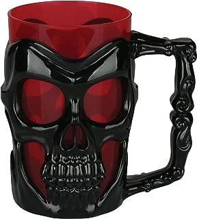 Seasons Black Skull Mug