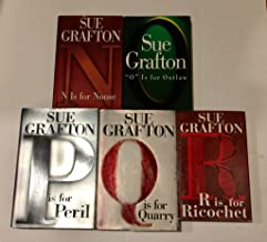 "5 Books! 1) ""N"" is for Noose 2) ""O"" is for Outlaw 3) ""P"" is for Peril 4) ""Q"" is for Quarry 5) ""R"" is for Ricochet"