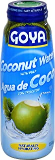 Goya Foods Coconut Water with Pulp, 13.5 Ounce (Pack of 12)