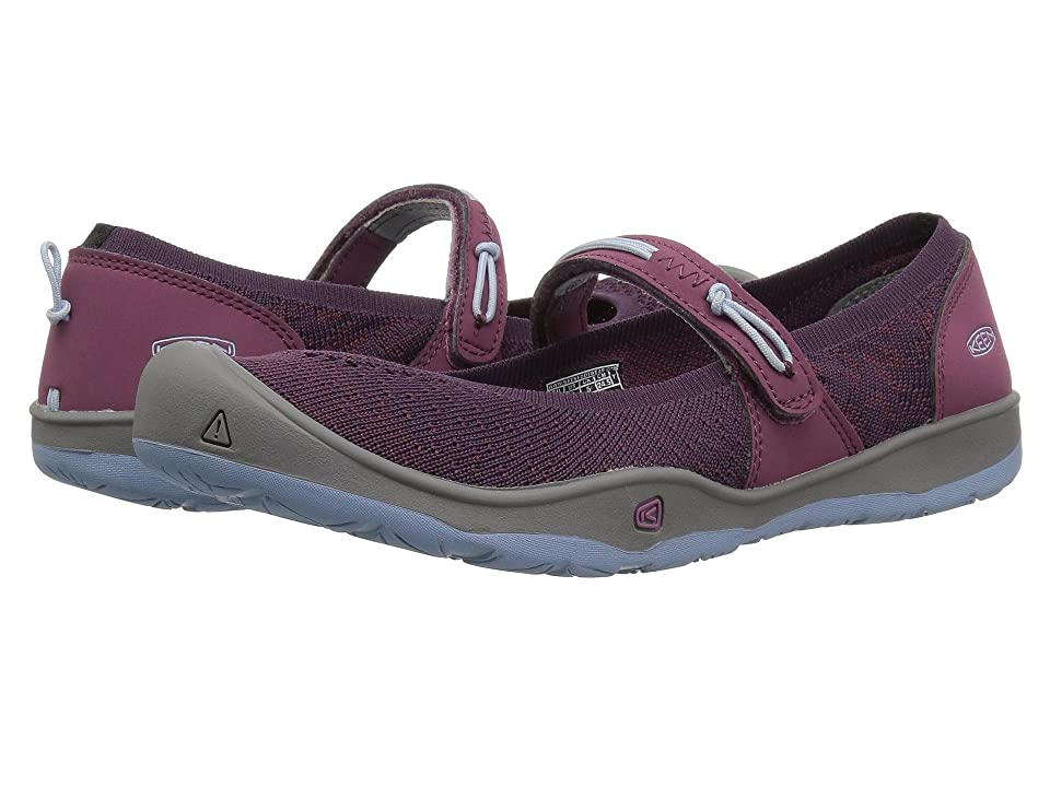 Keen Kids Moxie Mary Jane (Little Kid/Big Kid) (Tulipwood/Blue Fog) Girl