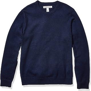 Amazon Essentials suéter de cuello redondo de peso medio para hombre