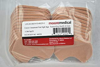 Moore Medical Dancer Sesamoid Pad Right Beige - Bag of 25