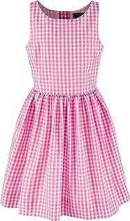 Ralph Lauren Polo Girls Taffeta Gingham Sleeveless Party Dress