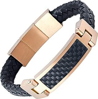 dad bracelet leather