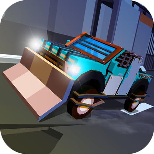 Smasher Challenge Safari Trip - Post Apocalypse Racing