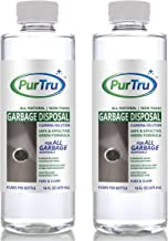 Garbage Disposal Cleaner (2 Pack) - All Natural and Safe Cleaning Solution for Deodorizing, Unclogging and Loosening Gunk and Removing Food Particles From Disposer