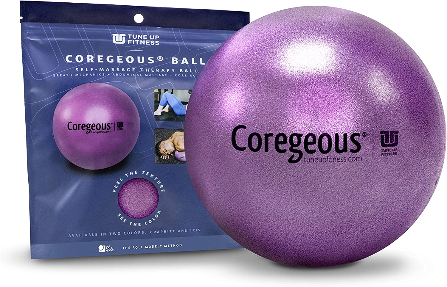 Yoga Up Details about  /Tune Up Fitness Graphite Coregeous Therapy Ball Roll Model Method Used