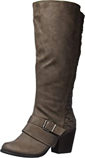 Fergalicious Women's Larissa Knee High Boot, Doe wc, 5.5 M M US