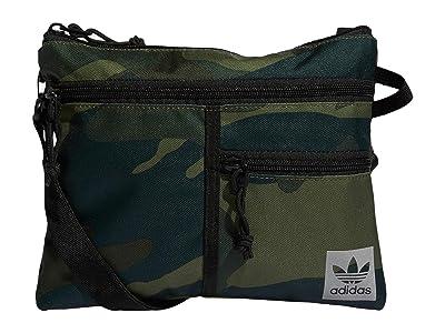 adidas Originals Originals Flat Crossbody (Adi Camo) Handbags