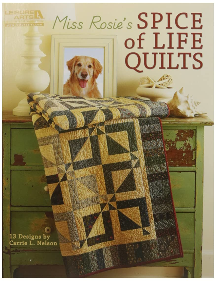LEISURE ARTS-Miss Rosie's Spice of Life Quilts
