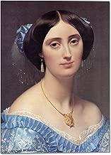 Princesse Albert de Broglie, nee Josephine-Eleonore-Marie-Pauline de Galard de Brassac de Bearn Detail by Jean-Auguste-Dominique Ingres - 13