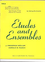 Muller Rusch for String Orchestra: Etudes and Ensembles (Viola)