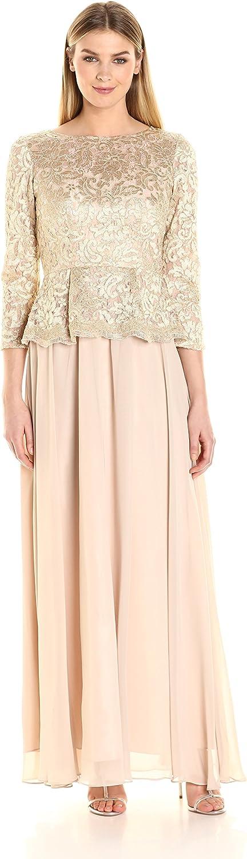 Decode 1.8 Womens Long Sleeve Lace Dress with Peplum Dress