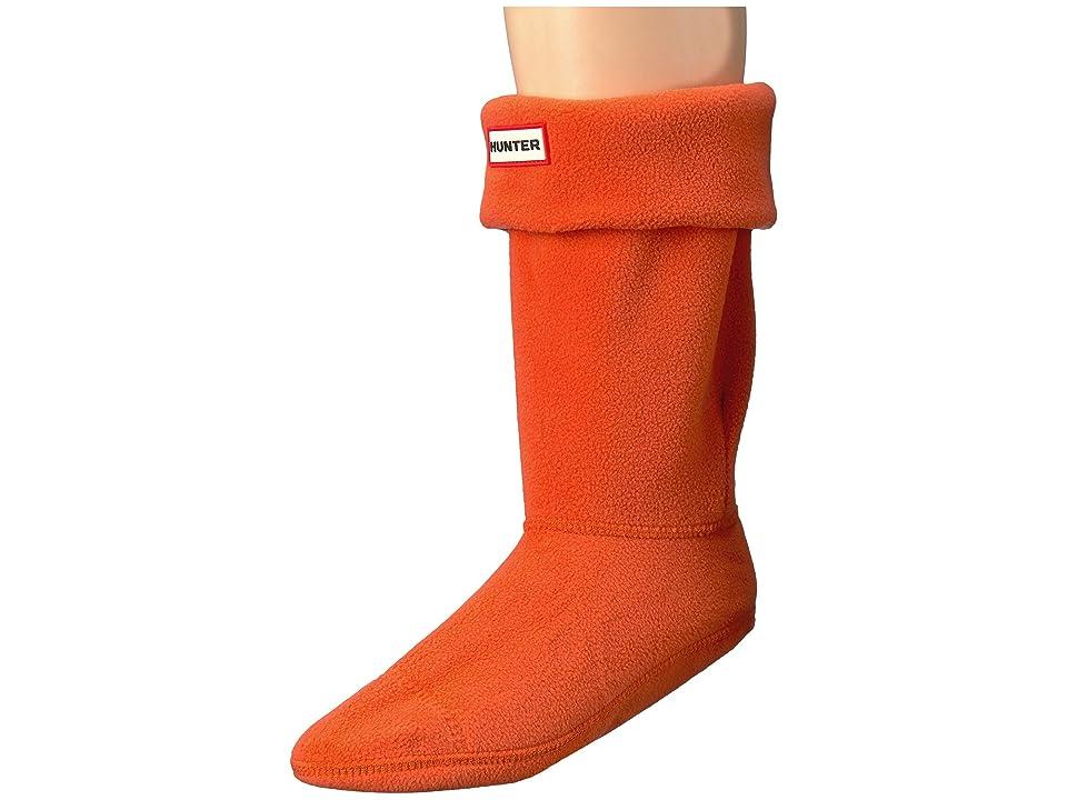 Hunter Short Boot Socks (Orange) Crew Cut Socks Shoes