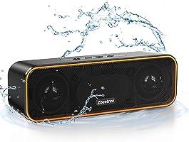 Bluetooth スピーカー ワイヤレススピーカー IPX7防水 ブルートゥーススピーカー 重低音 36時間連続再生 TWS対応 ポータブル Bluetooth5.0 /TFカード/AUX対応/マイク内蔵 USB Type-C充電...