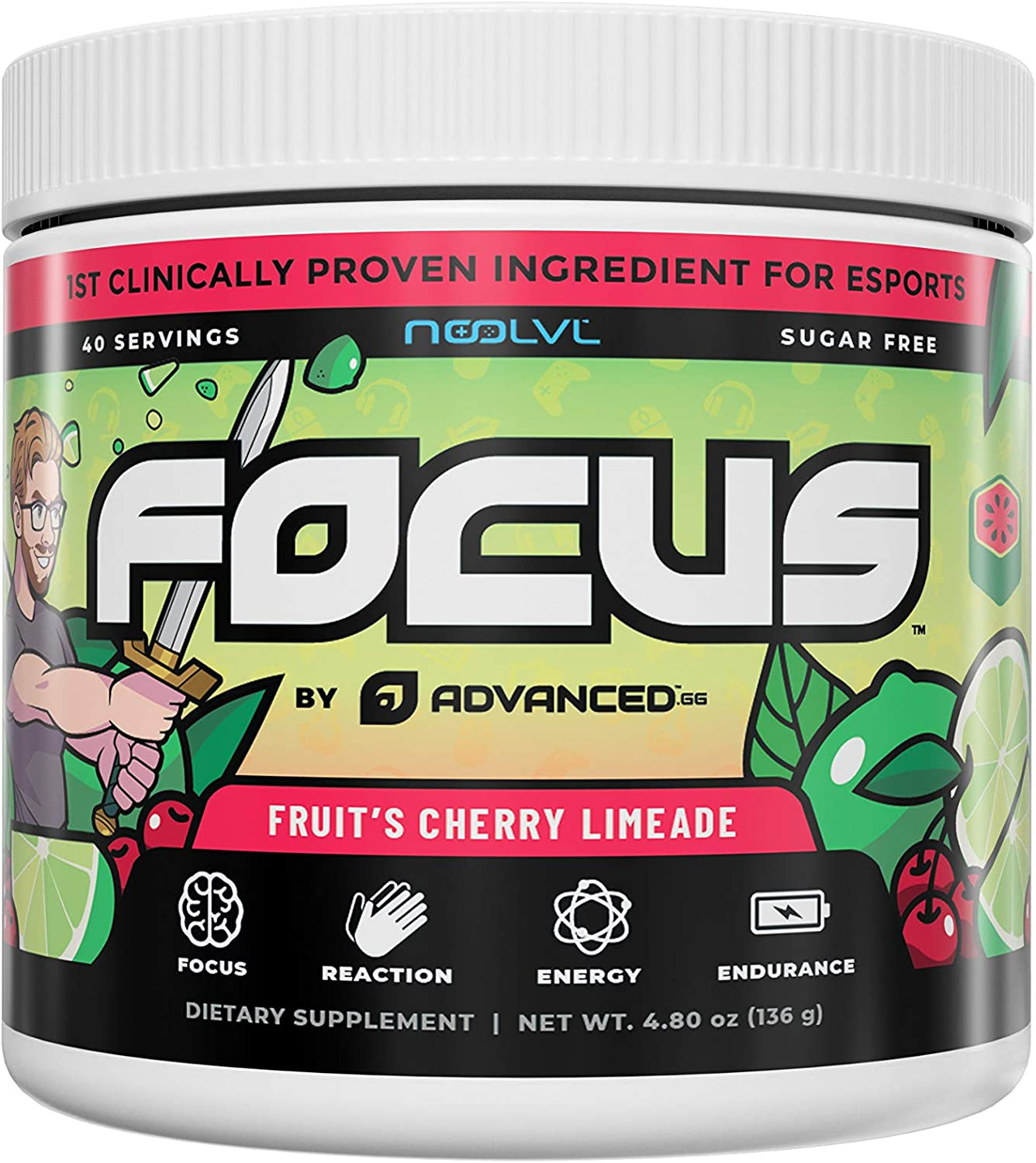 Focus by ADVANCED - Fruit's Award and Limeade Deluxe Cherry Concentra