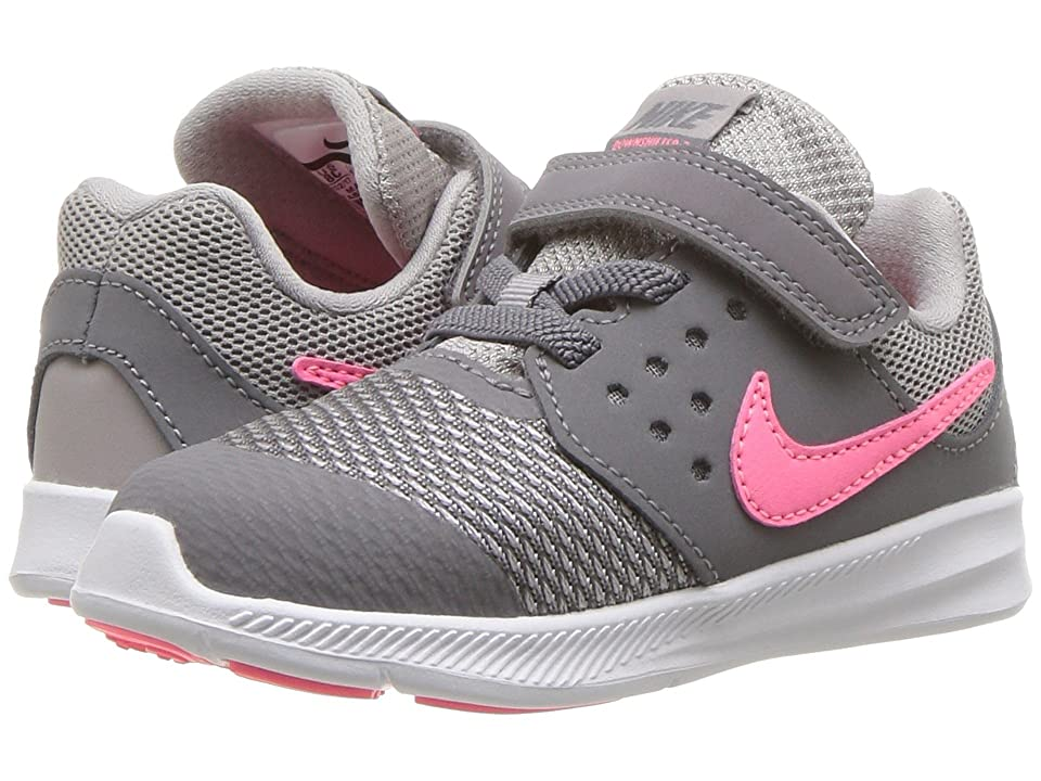 Nike Kids Downshifter 7 (Infant/Toddler) (Gunsmoke/Sunset Pulse/Atmosphere Grey) Girls Shoes