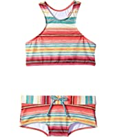Billabong Kids - Surfin' Billa High Neck Set (Little Kids/Big Kids)