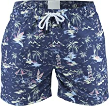 Matereek Mens Swim Trunks Slim Fit Quick Dry Shorts Bathing Suits with Mesh Lining