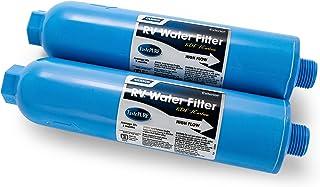 Camco 40045 TastePURE Inline RV Water Filter, Greatly Reduces Bad Taste, Odors, Chlorine..