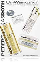 Un-Wrinkle Kit by Peter Thomas Roth for Unisex - 4 Pc Kit