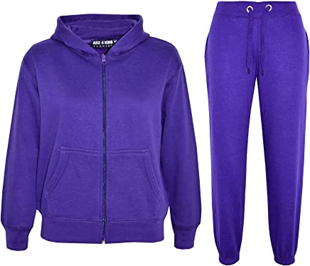 Just Hoods Kids Jog Pants Purple 9//11