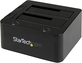 StarTech.com Universal Hard Drive Docking Station - SATA and IDE Dock - 2.5in & 3.5in HDD and SSD Docking Station with UASP & SATA III (UNIDOCKU33)