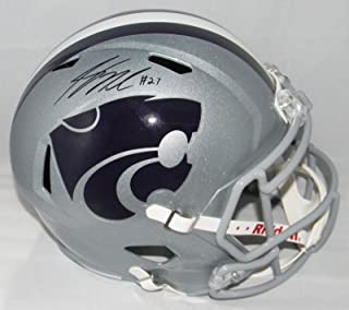 Jordy Nelson Autographed Signed Kansas State Wildcats Full Size Speed Helmet Bas - Beckett Authentication