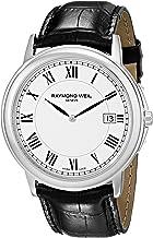 Raymond Weil Men's 54661-Stc-00300 Quartz Stainless Steel White-Dial Watch
