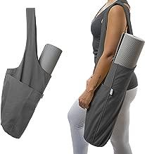 Yogiii Yoga Mat Bag | The Original YogiiiTote | Yoga Mat Tote Sling Carrier with Large Side Pocket & Zipper Pocket | Fits Most Size Mats