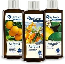 Spitzner Infusion pour sauna Vitamine C : Argousier, Orange et Agrumes (3x190ml)