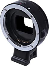 Movo CTS100 AF Lens Adapter for Sony NEX Mirrorless Cameras Body to fit Canon EOS EF, EF-S Lenses - with Tripod Mount
