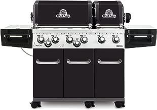 Broil King 957244 Regal XL Pro LP Gas Grill, Six-Burner, Black Porcelain