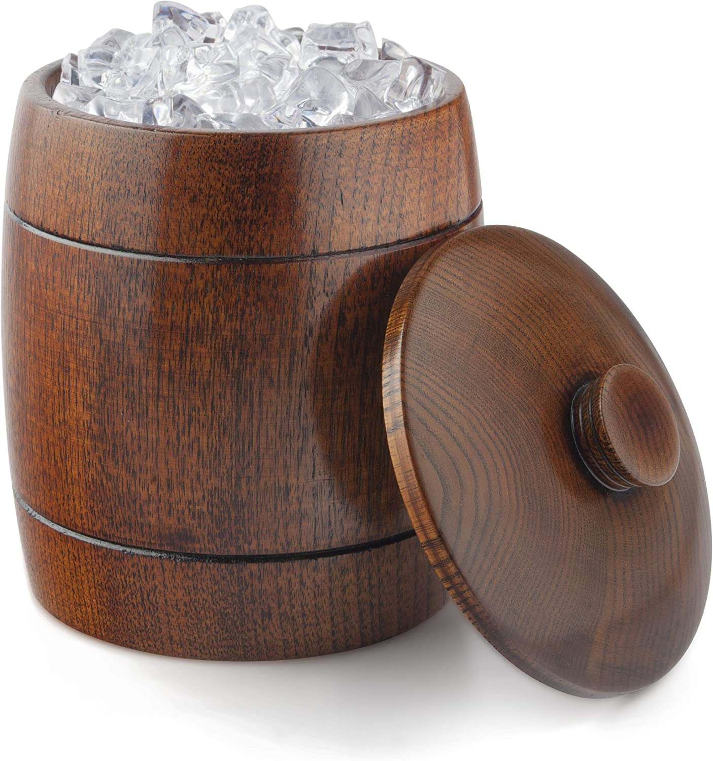 Final Touch Solid Ranking TOP20 Wood Ice Lid Bucket GG1100 Japan's largest assortment with