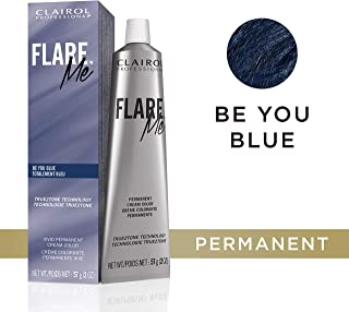 Clairol Professional Flare Me Hair Color, Be You Blue, 2 Ounce