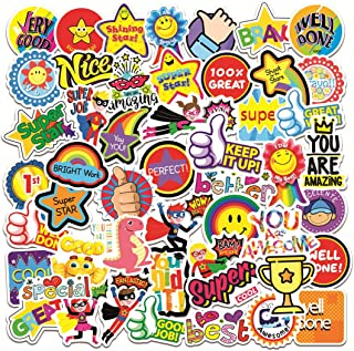 50pcs Reward Motivational Stickers for Classroom Students Parents School Teachers Kids Planners Teens, Waterproof Rewardin...